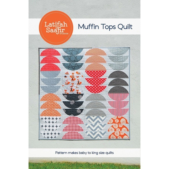 Latifah Saafir, Muffin Tops Quilt Pattern