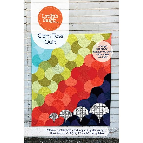 Latifah Saafir, Clam Toss Quilt Pattern