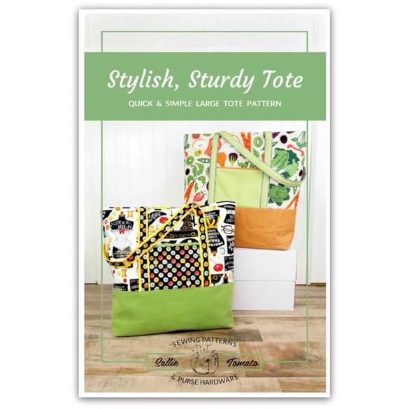 Stylish Sturdy Tote Pattern