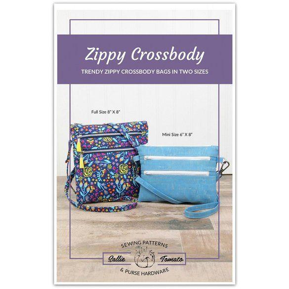 Zippy Crossbody Bag Pattern