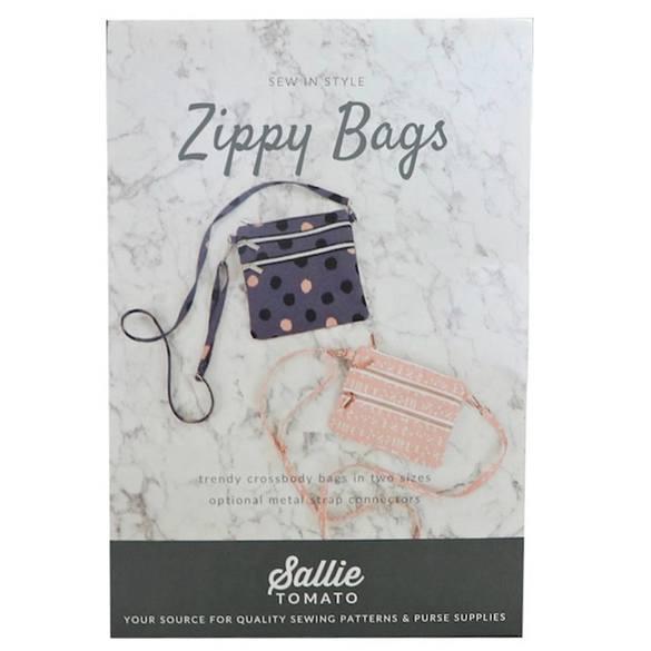 Sallie Tomato, Zippy Kit Bag Pattern Kit