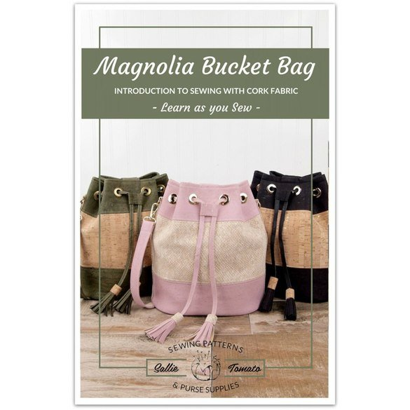 Magnolia Bucket Bag Pattern