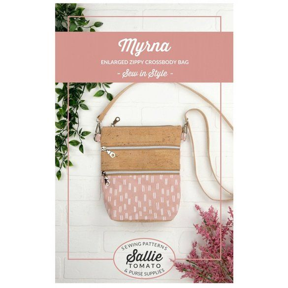 Myrna Zippy Crossbody Bag Pattern