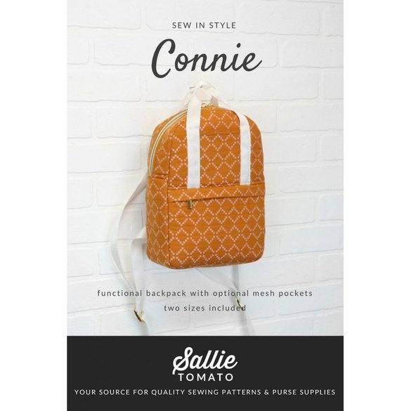Sallie Tomato, Connie Backpack Pattern