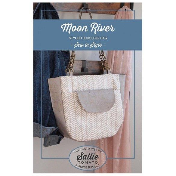 Sallie Tomato, Moon River Bag Pattern