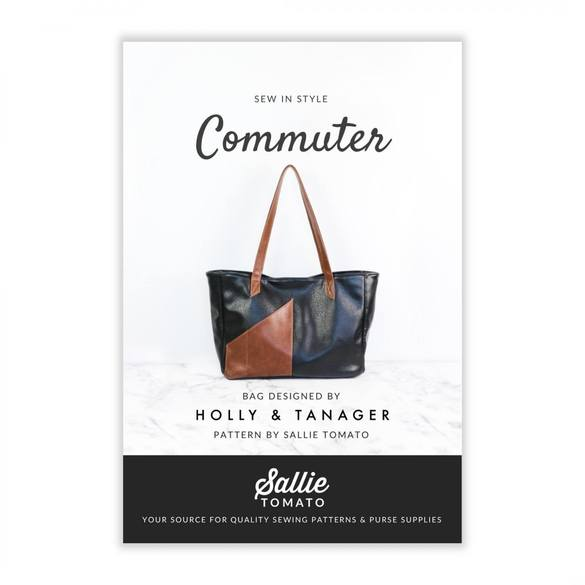 Sallie Tomato, Commuter Purse Pattern Kit