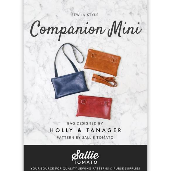 Sallie Tomato, Companion Mini Purse Pattern Kit