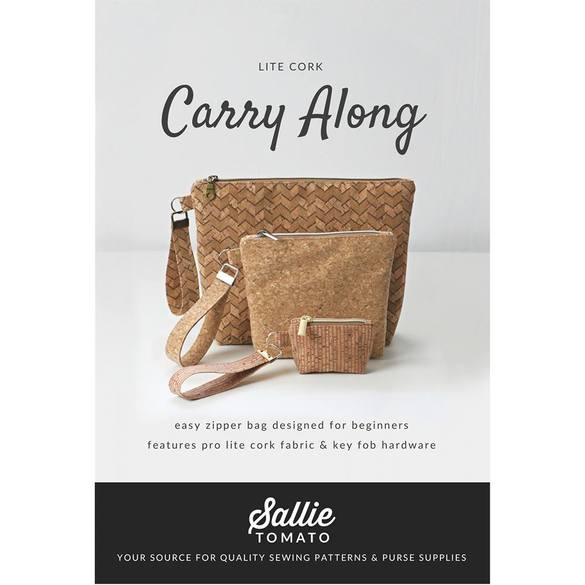 Sallie Tomato, Carry Along Purse Pattern Kit