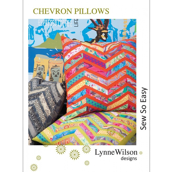 Lynne Wilson Designs, Chevron Pillow Pattern