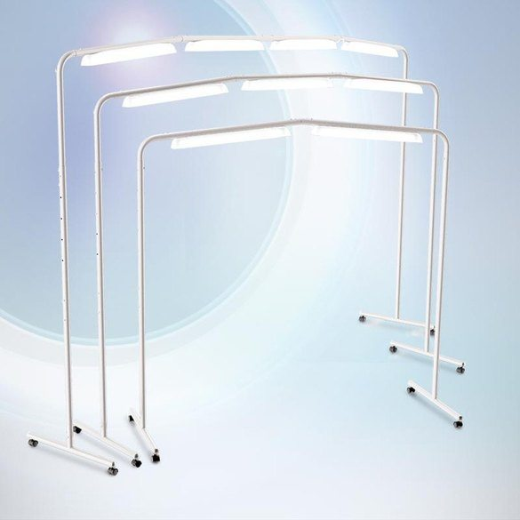 Luminess Adjustable LED Free-Standing Light Station