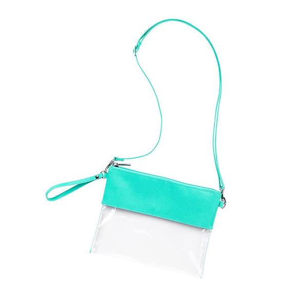 Clear Purse with Crossbody Strap