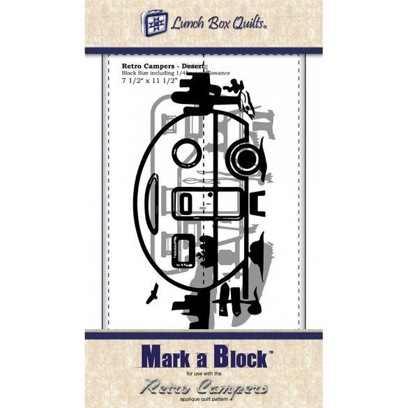 Mark-a-Block Retro Campers Template