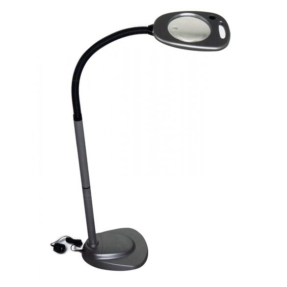LED Floor Light & Magnifier, Mighty Bright