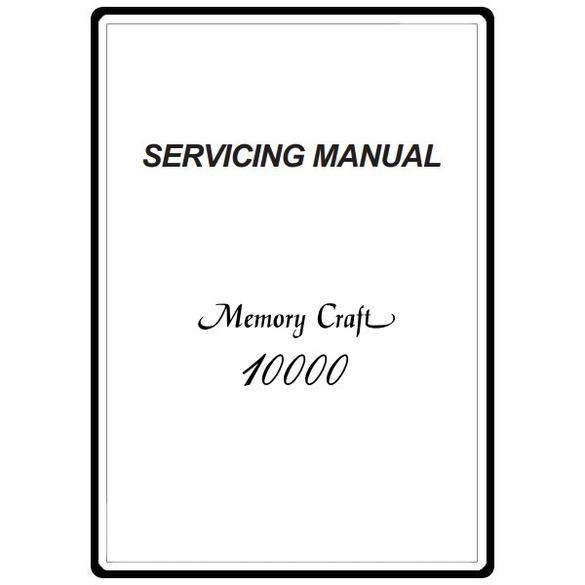 Service Manual, Janome MC10000