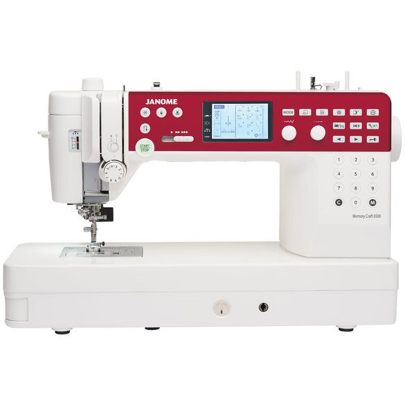 Janome MC6650 Computerized Sewing and Quilting Machine