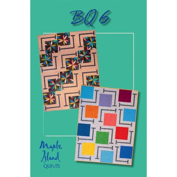Maple Island Quilts, BQ6 Quilt Pattern