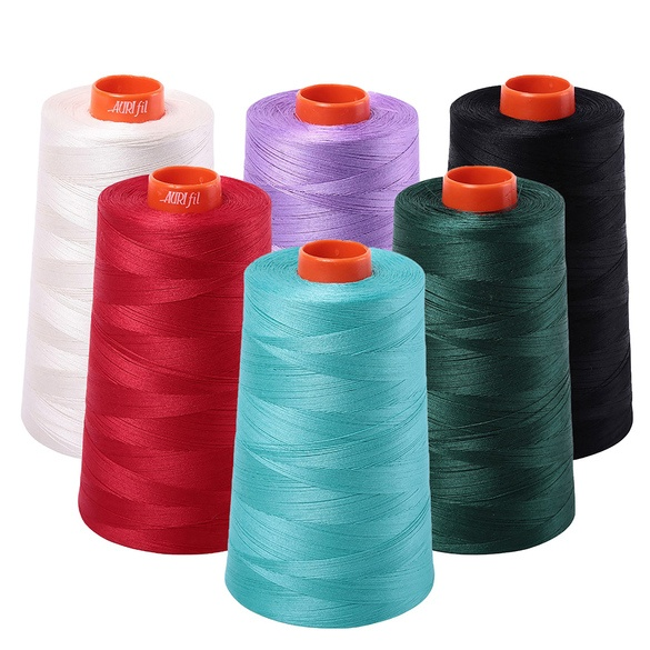 Aurifil, Mako Cotton 50wt Embroidery Thread (6452yds)