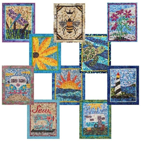 Oy Vey Quilt Designs Mini Mosaic Patterns