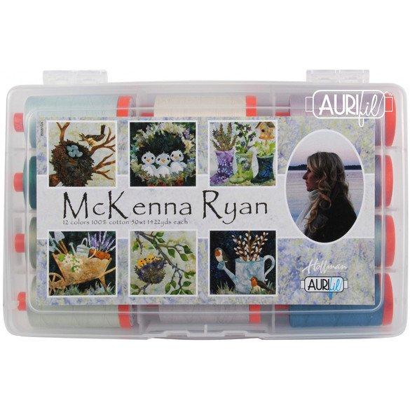 McKenna Ryan Thread Collection, Aurifil - 12 Spools