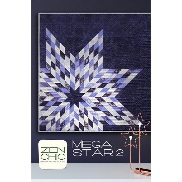 Mega Star II Quilt Pattern