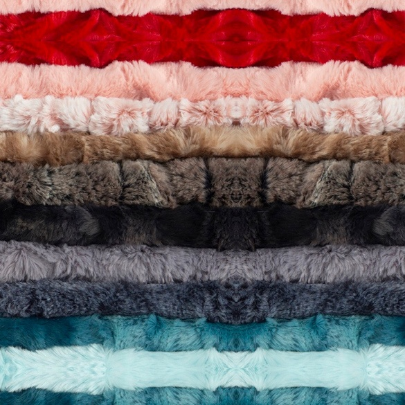 "Luxe Cuddle Cut Minky Fabric (2yds x 59"")"