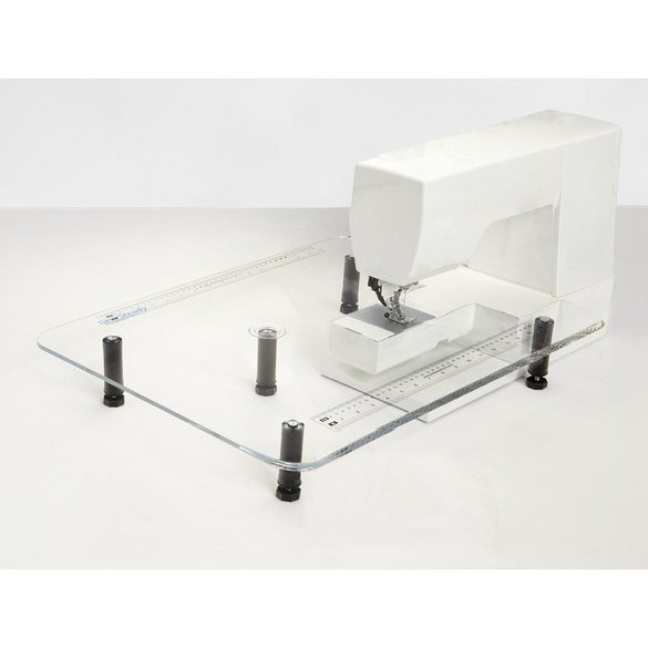"""Acrylic Extension Table 18""""x 24"""", Janome #NH128-7"""