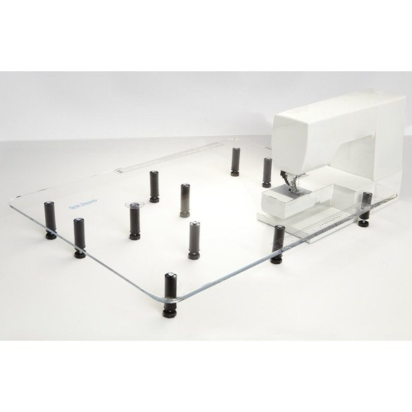 """Acrylic Extension Table 24""""x 32"""", Janome #NH128giant-7"""
