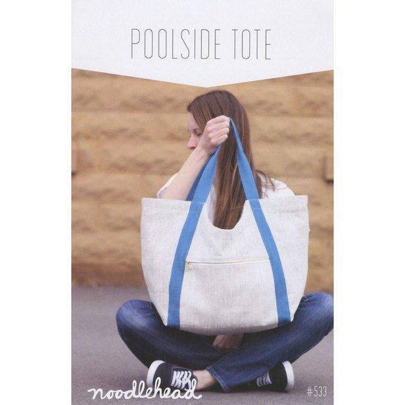 Poolside Tote Bag Pattern