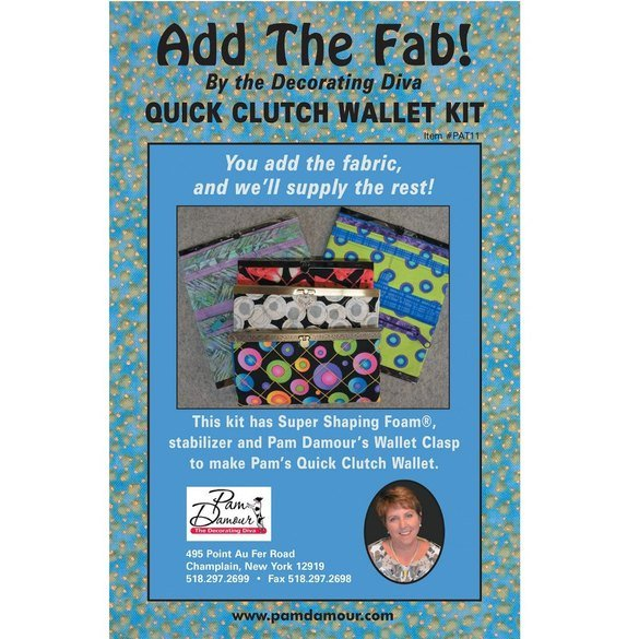 Add the Fab! Quick Clutch Wallet Kit