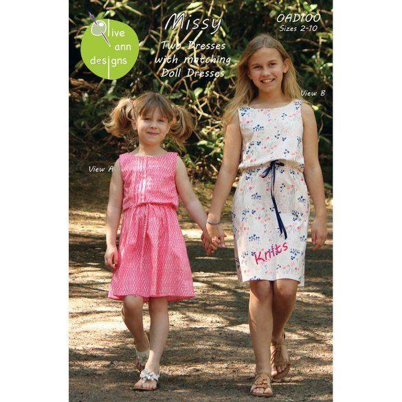 Missy Dress Pattern, Olive Ann Designs