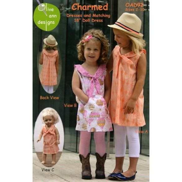 Charmed Dress Pattern with Matching Doll Dress
