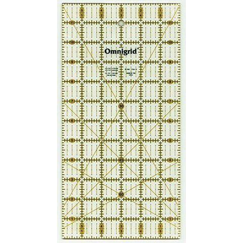Ruler 6in x 12in, Omnigrid