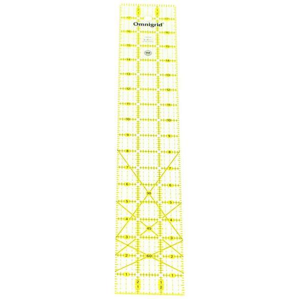 3in x 18in Angle Grid Ruler, Omnigrid