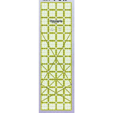 No-Slip Ruler  4in x 14in, Omnigrid