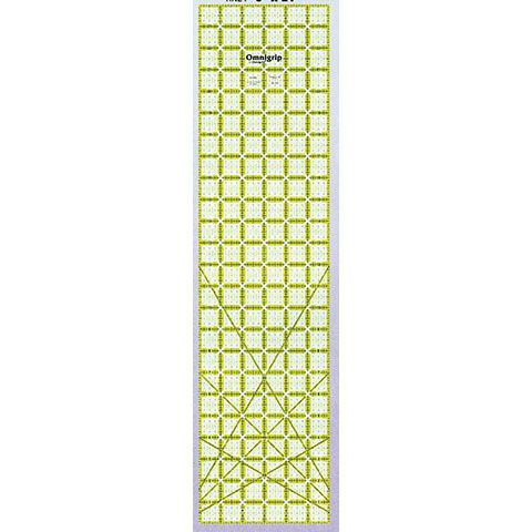 No-Slip Ruler 6in x 24in, Omnigrid