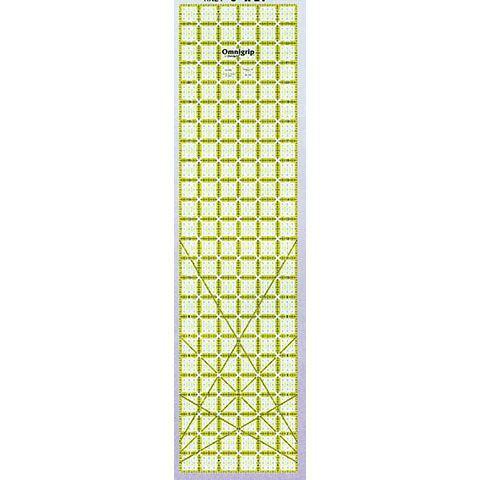 No-Slip Ruler 6in x 24in, Omnigrid