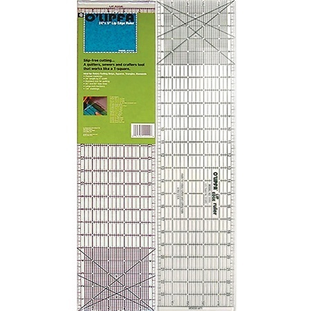 "Lip Edge Ruler 5""x24"", Olfa"