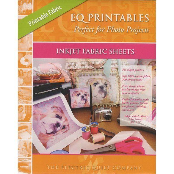 Electric Quilt Company, Printables Inkjet Fabric Sheets