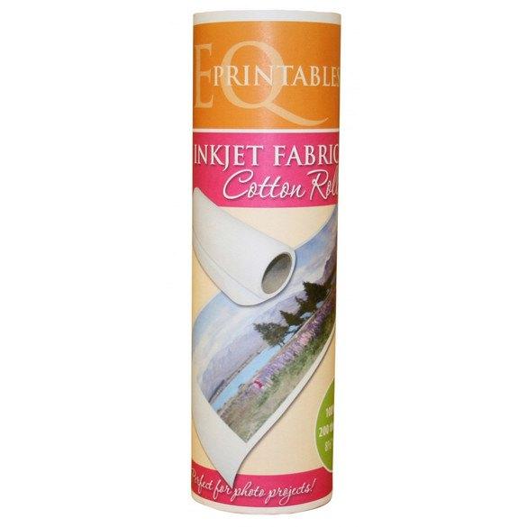 "Printable Cotton Fabric Roll - 8-1/2"" x 120"""