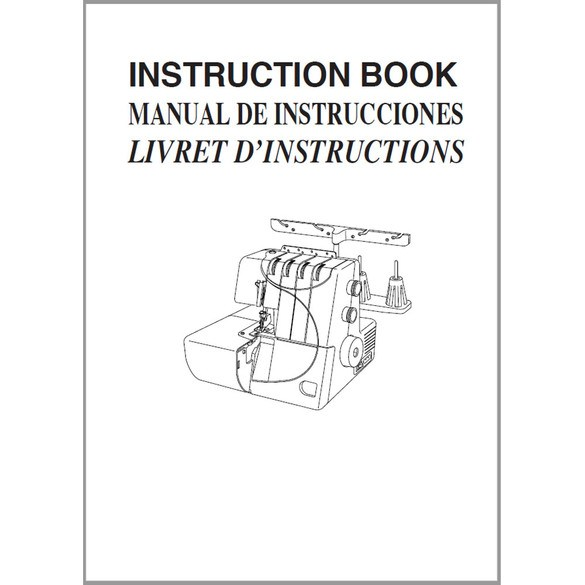 Instruction Manual, Janome Four-DLB