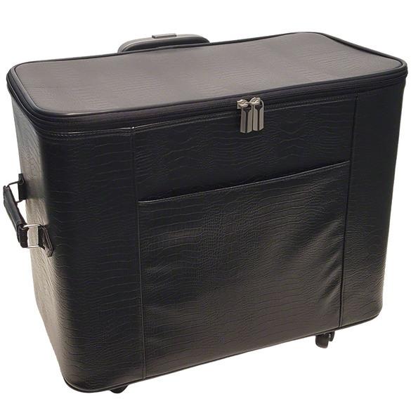 20in Wheeled Sewing Machine Hard Case - Black