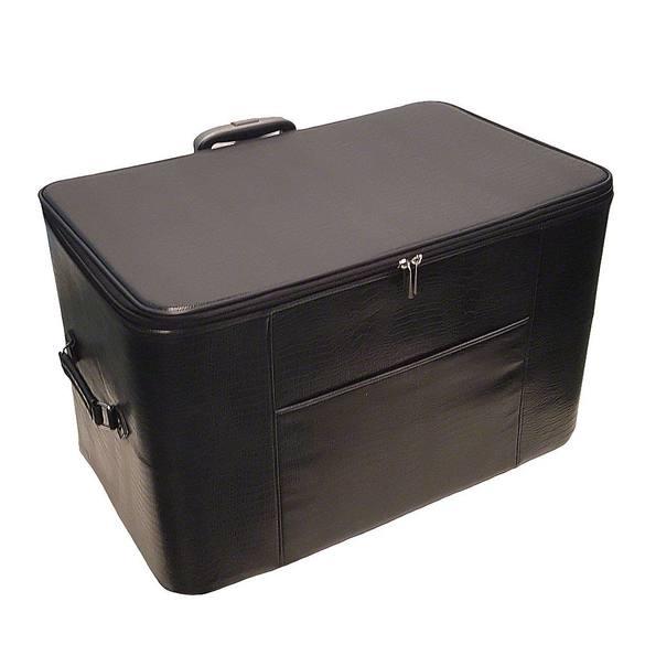 24in Wheeled Sewing Machine Hard Case - Black