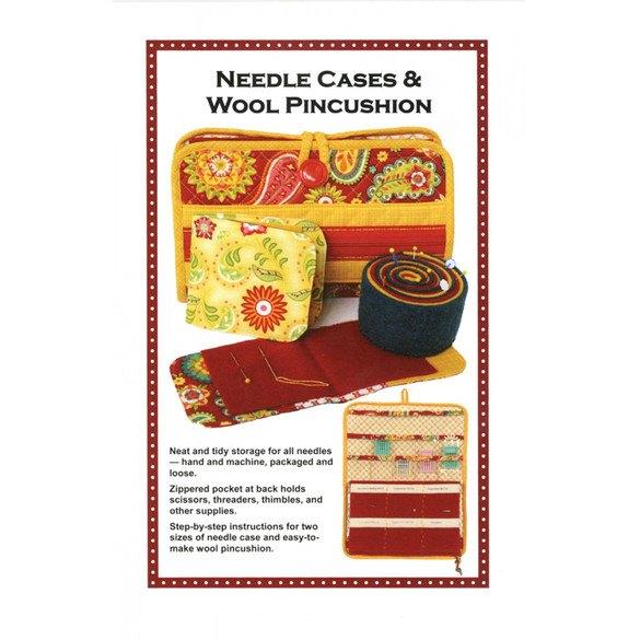 Needlecase and Wool Pincushion Pattern