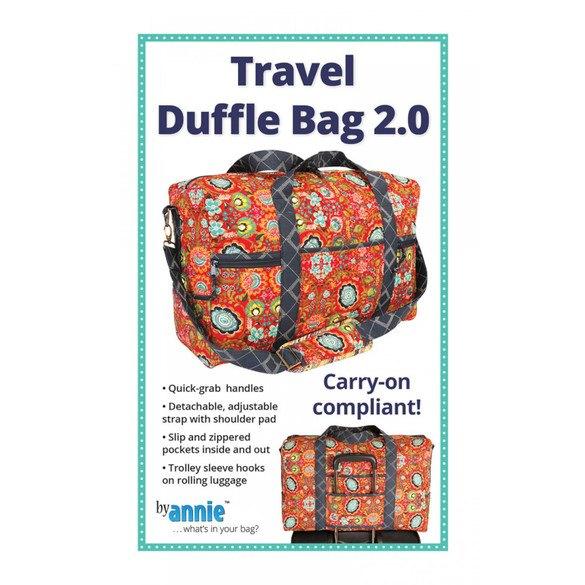 Travel Duffle Bag 2.0 Pattern