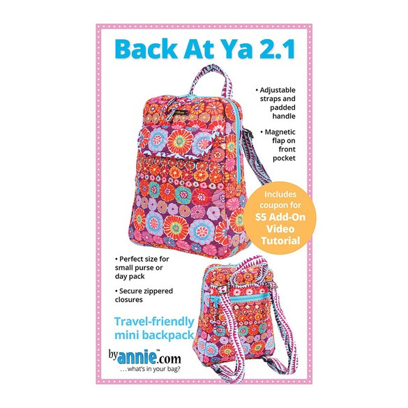 Back At Ya 2.1 Backpack Pattern