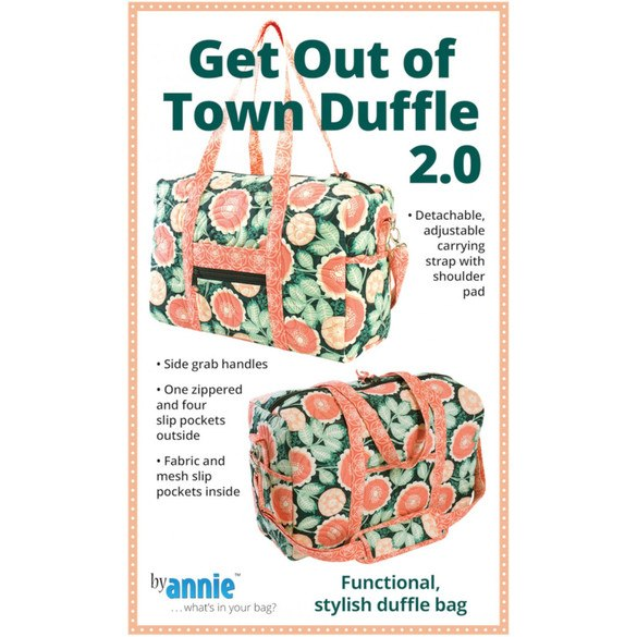 Get Out of Town Duffel 2.0 Pattern