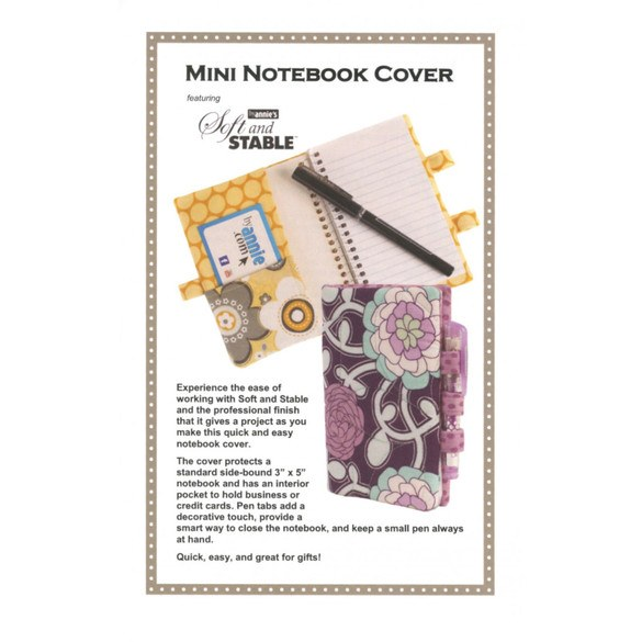 Mini Notebook Cover Pattern