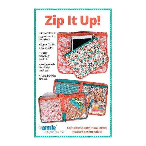 Zip It Up! Pattern