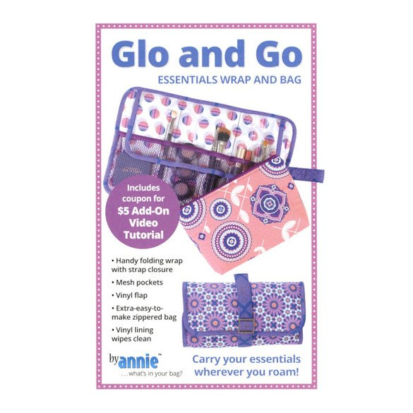 Glo and Go Essentials Wrap and Bag Pattern