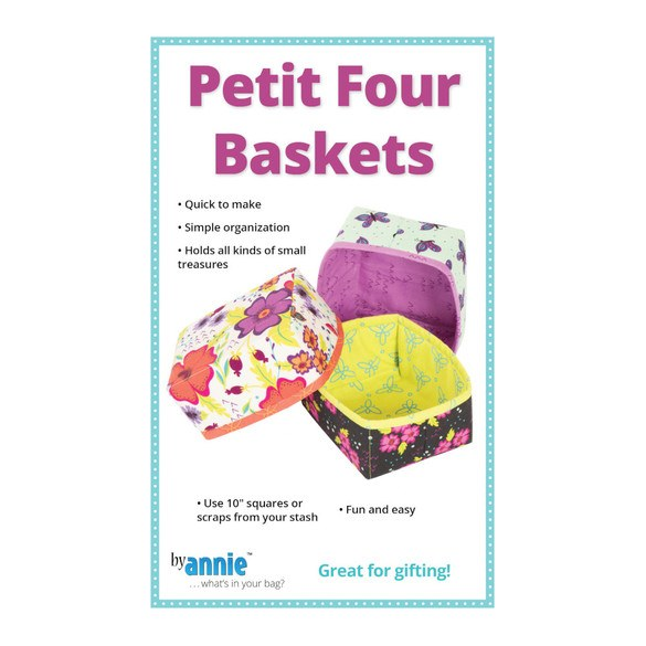 Petit Four Baskets Pattern